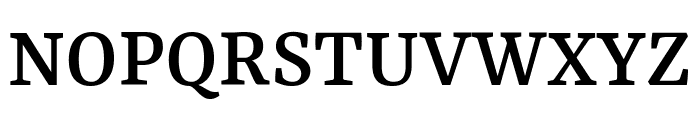 Yrsa Medium Font UPPERCASE