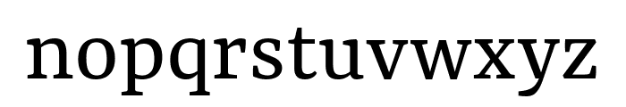 Yrsa Regular Font LOWERCASE