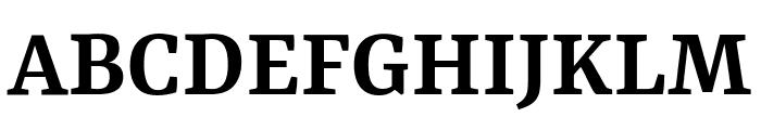 Yrsa SemiBold Font UPPERCASE