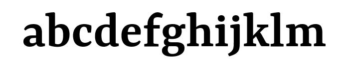 Yrsa SemiBold Font LOWERCASE