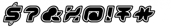 Yr72 Inline Italic Font OTHER CHARS