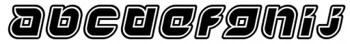 Yr72 Inline Italic Font LOWERCASE