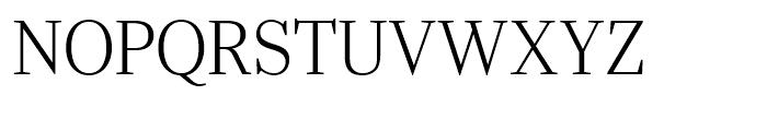 Ysobel Display Light Font UPPERCASE