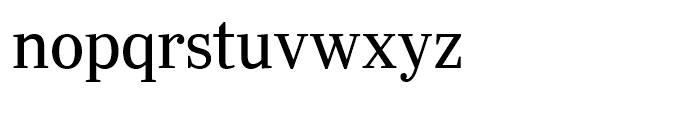 Ysobel Display Regular Font LOWERCASE