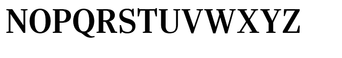 Ysobel Display Semi Bold Font UPPERCASE