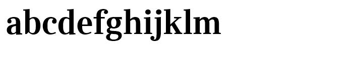 Ysobel Display Semi Bold Font LOWERCASE