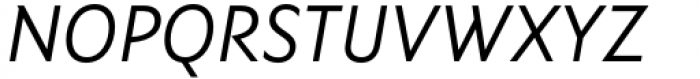 Ysans Std Italic Font UPPERCASE