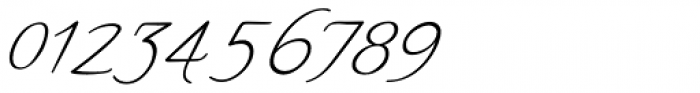 Yseult Fine 55 Font OTHER CHARS