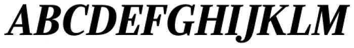 Ysobel Pro Display Bold Italic Font UPPERCASE