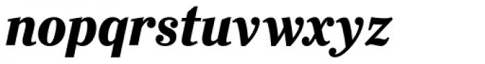 Ysobel Pro Display Bold Italic Font LOWERCASE