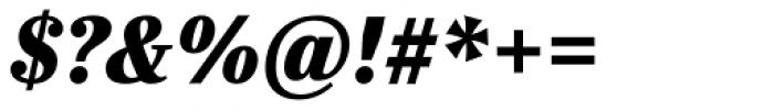 Ysobel Pro Display ExtraBold Italic Font OTHER CHARS