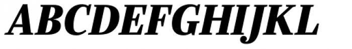 Ysobel Pro Display ExtraBold Italic Font UPPERCASE
