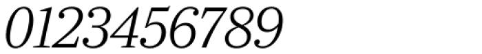 Ysobel Pro Display Light Italic Font OTHER CHARS