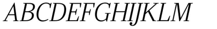 Ysobel Std Display Light Italic Font UPPERCASE
