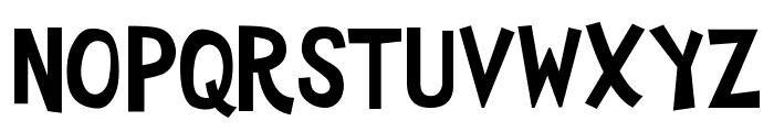 YTV 2000 Font UPPERCASE