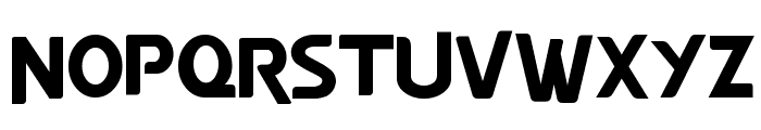 YTV Present Font UPPERCASE