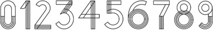 YUCCA GEOMETRICAL otf (400) Font OTHER CHARS