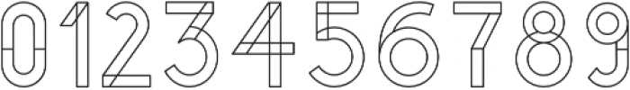 YUCCA OUTLINE otf (400) Font OTHER CHARS