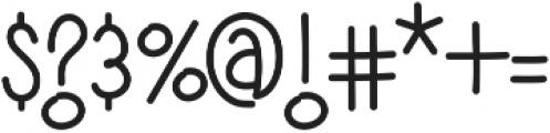 Yujufont ttf (400) Font OTHER CHARS