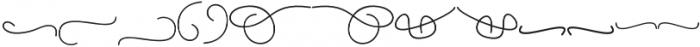 Yulinda Swashes otf (400) Font UPPERCASE