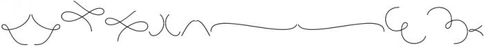 Yulinda Swashes otf (400) Font LOWERCASE