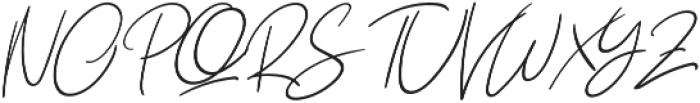 Yuminika Italic otf (400) Font UPPERCASE