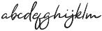 Yuminika Italic otf (400) Font LOWERCASE