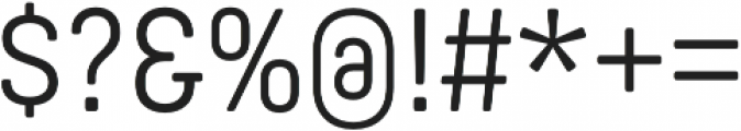 Yummo Regular otf (400) Font OTHER CHARS