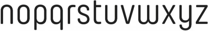 Yummo Regular otf (400) Font LOWERCASE
