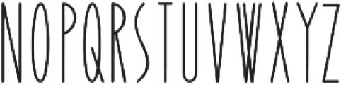 Yummy otf (400) Font UPPERCASE