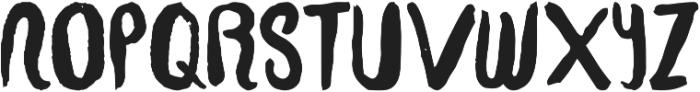 Yus Display ttf (700) Font UPPERCASE