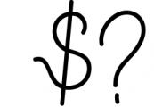 Yussan Script Font OTHER CHARS