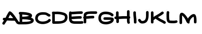 YUKAFONTSMILE Font UPPERCASE