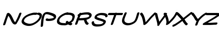 YUKATHIN_N.CONTE SMILE Font UPPERCASE