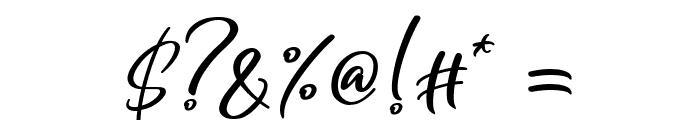 Yukikato Font OTHER CHARS