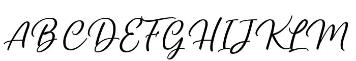 Yukikato Font UPPERCASE
