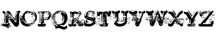 Yukon Gold Font UPPERCASE