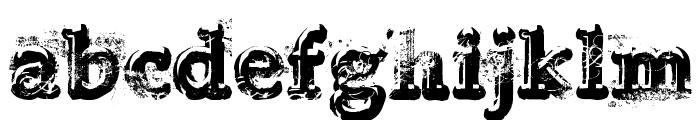 Yukon Gold Font LOWERCASE