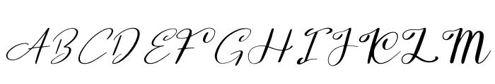 Yumina Font UPPERCASE