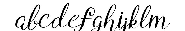 Yumina Font LOWERCASE