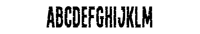 Yummy Mummy Condensed Font LOWERCASE