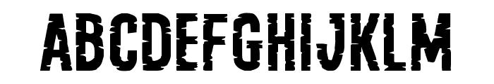 Yummy Mummy Expanded Font UPPERCASE