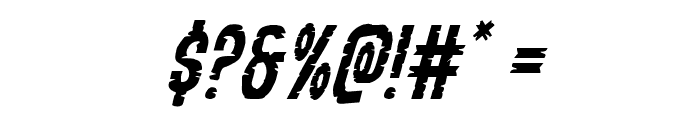 Yummy Mummy Italic Font OTHER CHARS