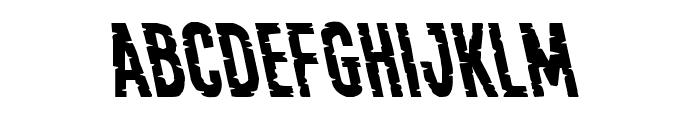 Yummy Mummy Leftalic Font LOWERCASE