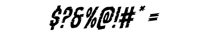 Yummy Mummy Rotalic Font OTHER CHARS