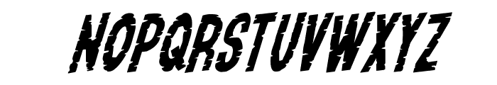 Yummy Mummy Rotalic Font UPPERCASE
