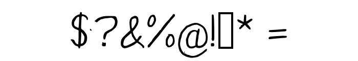 YunusH Regular Font OTHER CHARS