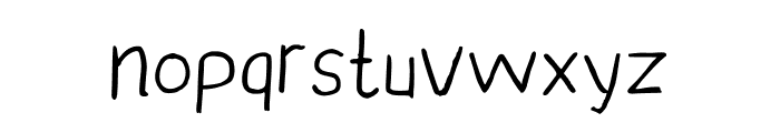 YunusH Regular Font LOWERCASE