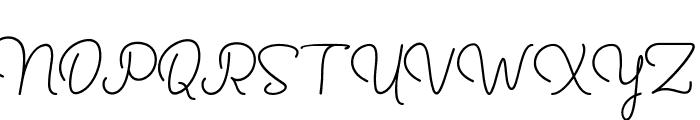 Yussan Font UPPERCASE