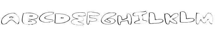 yum nub extended Font UPPERCASE